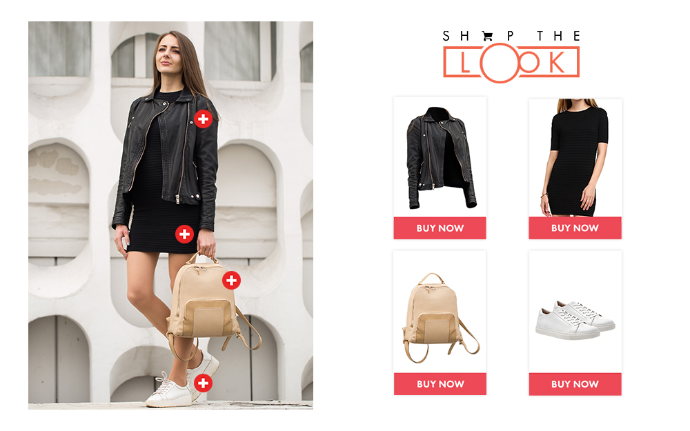 Vue.ai shop the look