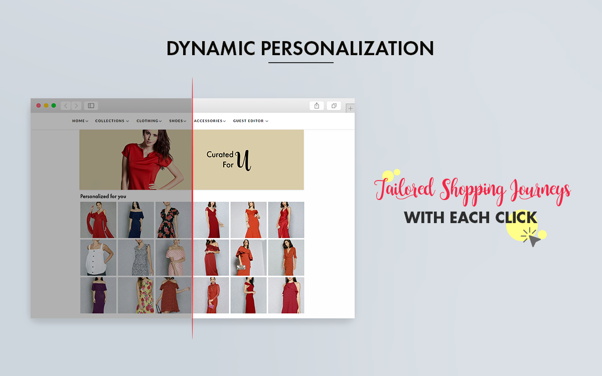 Dynamic Personalization: Tailor Shopper Journeys With Personalized Product Recommendations