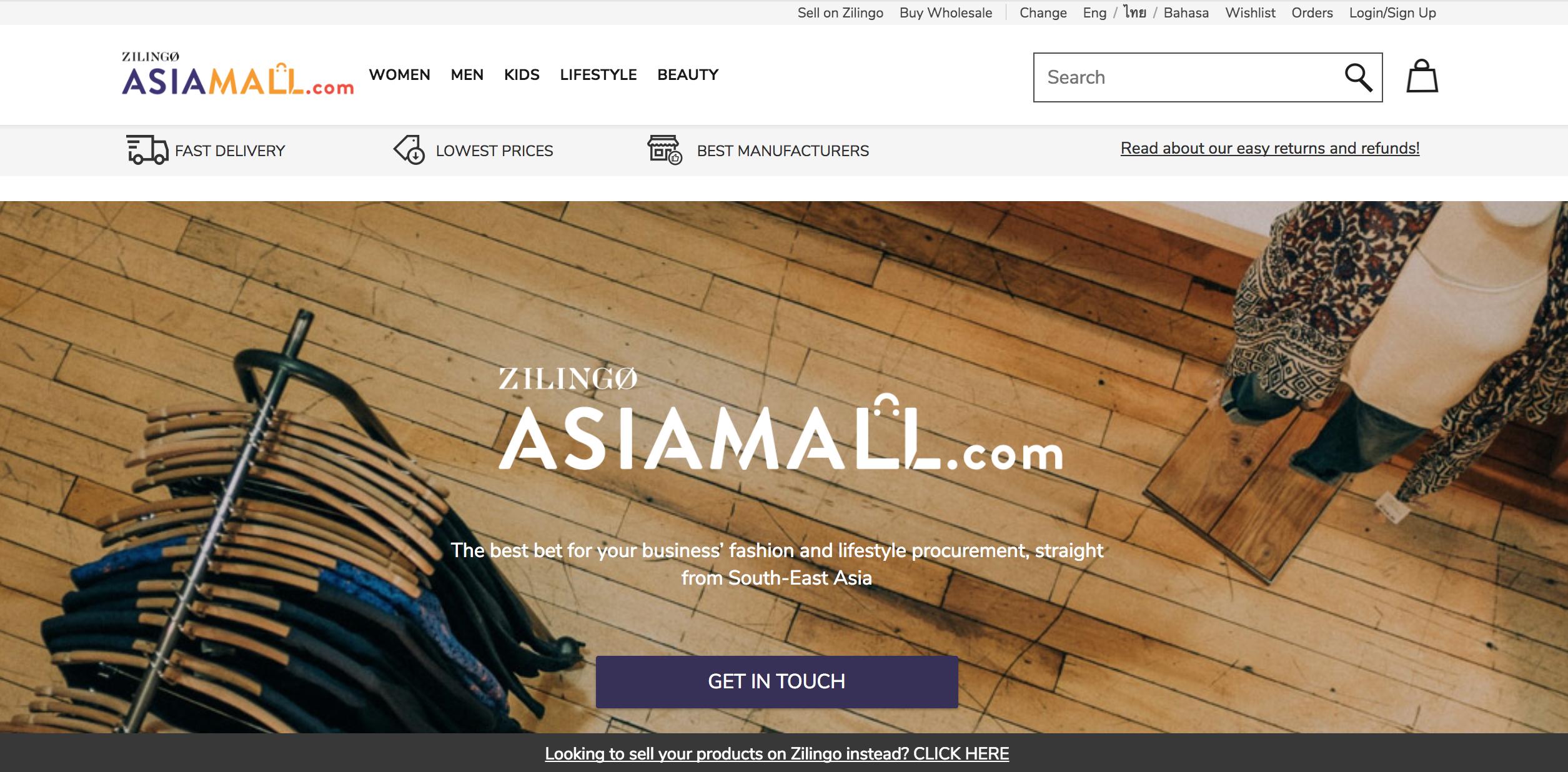 Zilingo Asia Mall
