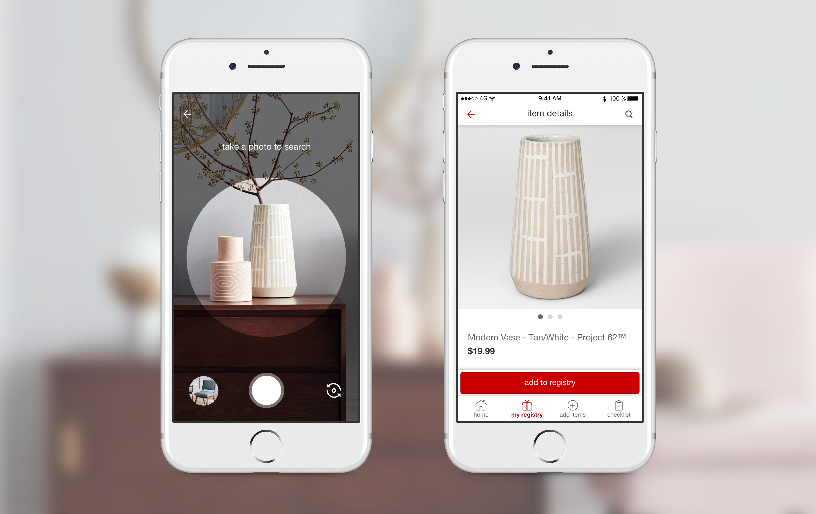 Target integrated Pinterest's visual search tool to its app and website