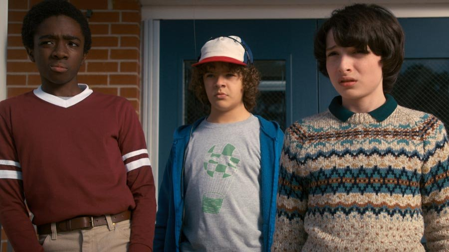 Still from the show, Stranger Things