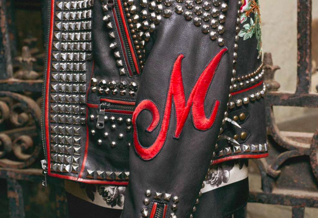 The iconic Gucci leather jacket with personalized motifs is a fine example of how much the luxury house values personalization