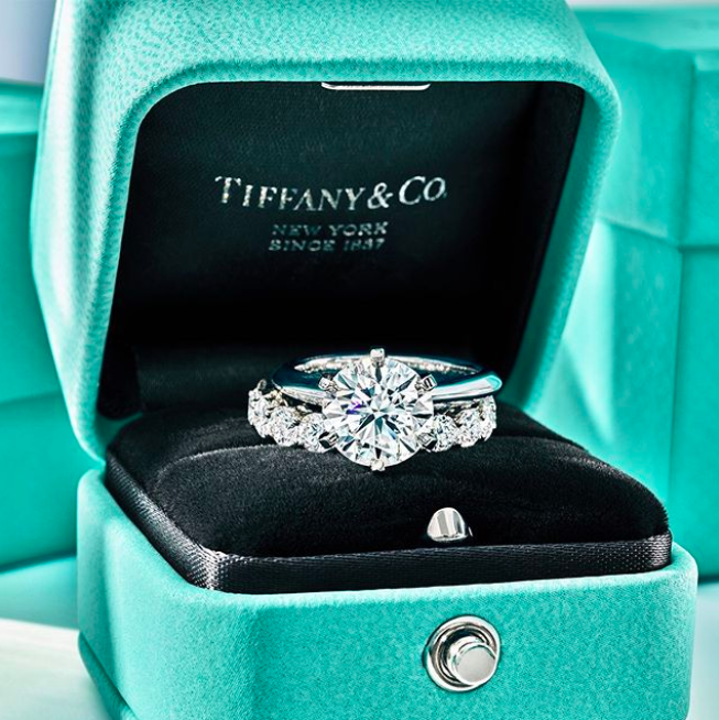 Tiffany has monopolized turquoise hue and the shade is now recognized as Tiffany blue - a sign of luxury. This is a classic example of brand image consistency.