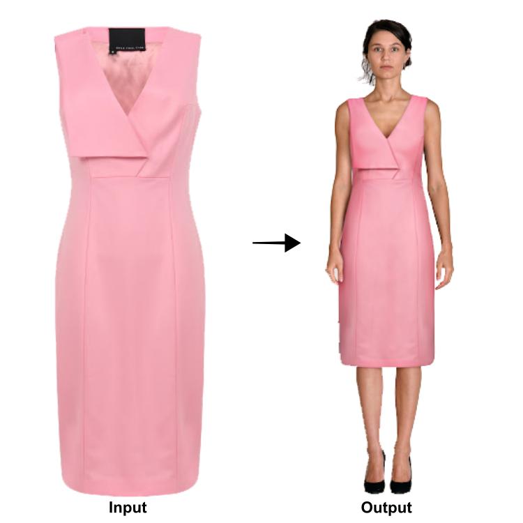 Product Photoshoot Alternative - VueModel | Automated On-Model Fashion Imagery