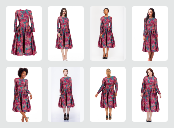 A.I. in Retail | Pick models of sizes & ethnicities that your shoppers will relate to the most