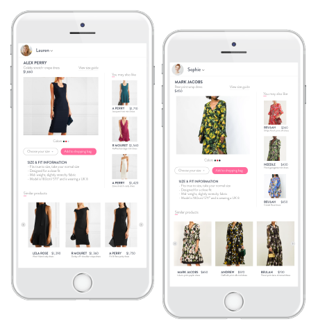 Product Details Page Personalization